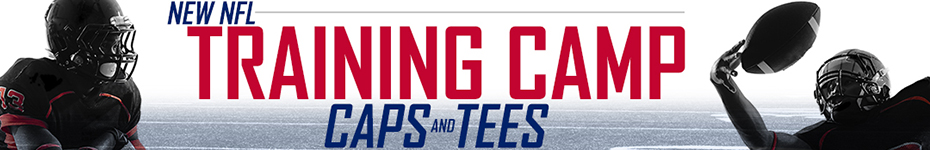 Shop Training Camp Hats and T-Shirts