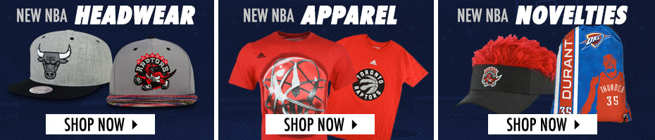 Shop NBA Hats, Apparel and Novelties