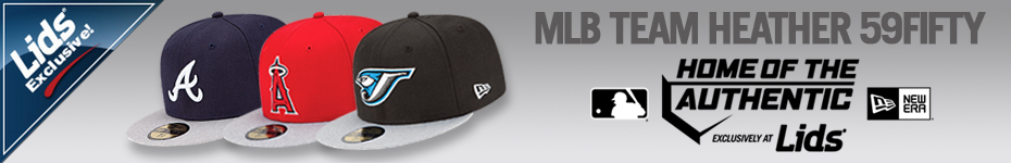 Lids Exclusive! Shop the MLB Team Heather 59FIFTY Cap