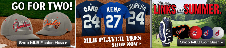 Shop MLB Hats, T-Shirts & Novelty