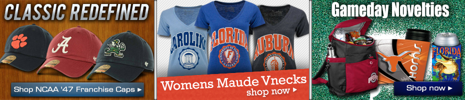 Shop NCAA Hats, T-Shirts & Novelty