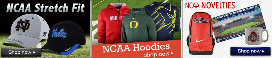Shop NCAA Hats, Apparel & Novelty