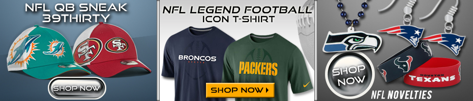 Shop NFL Hats, T-Shirts & Novelty