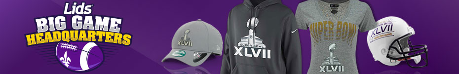 Shop Super Bowl XLVII Gear