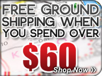Order Over $60 Get Free Ground Shipping