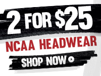 Shop NCAA 2 for 25 Headwear