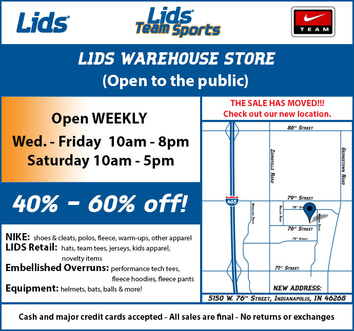 LIDS Side Walk Sale