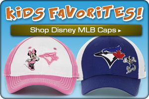 Shop MLB Disney Kids Caps