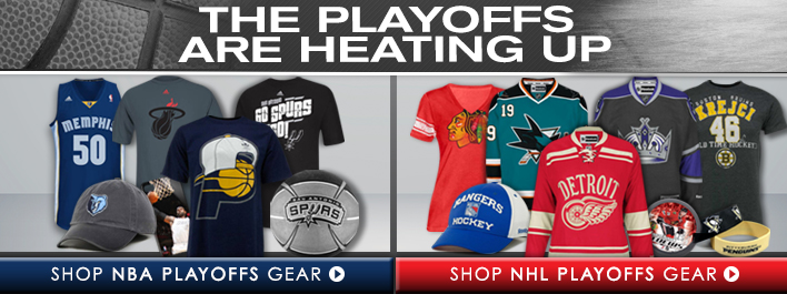 Shop NBA & NHL Gear