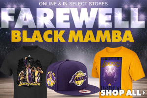 Shop Kobe Bryant retirement gear now!