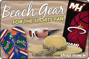 Shop Beach Gear for the Sports Fan