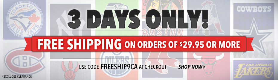 Free Shipping On Orders of $29.95 or More!