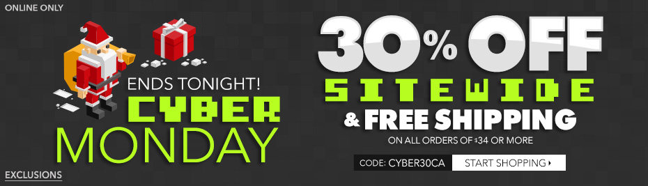 Cyber Monday Ends Soon!