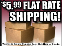 $5.99 Flat Rate Shipping!