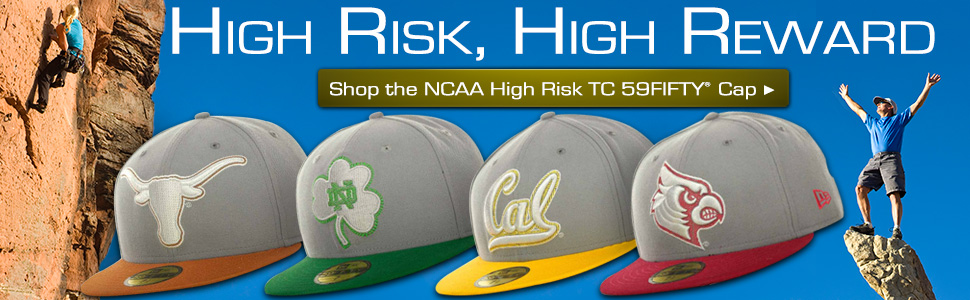 Shop NCAA High Risk 59FIFTY Cap