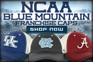 Shop NCAA Blue Mountain Franchise Cap