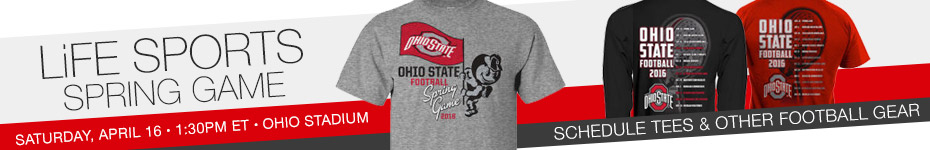 Shop the Spring Football T-Shirt and Schedule T-Shirt