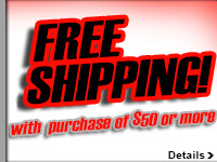 Free Ground Shipping on Orders of $50 or More