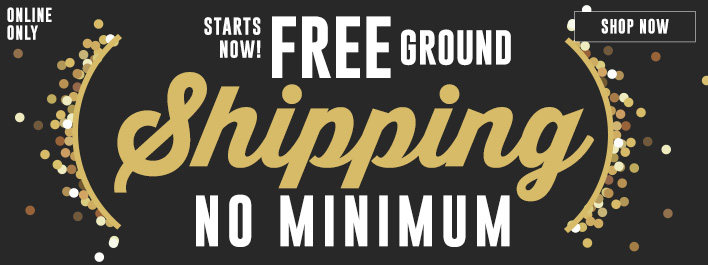 Shop Free Ground Shipping for the Holidays!