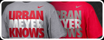 Shop Urban Meyer Knows T-Shirts Today!