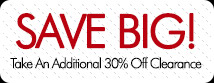 Take an extra 30% Off Clearance! Shop BuckeyeCorner.com now!