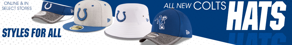 Shop Colts Hats now!