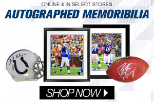Shop Colts Autographed Collectibles!