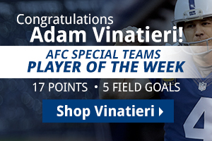 Shop Adam Vinatieri product now!
