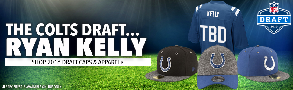 Shop Colts 2016 NFL Draft Caps and jersey now!