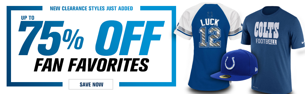 Shop Colts Clearance!