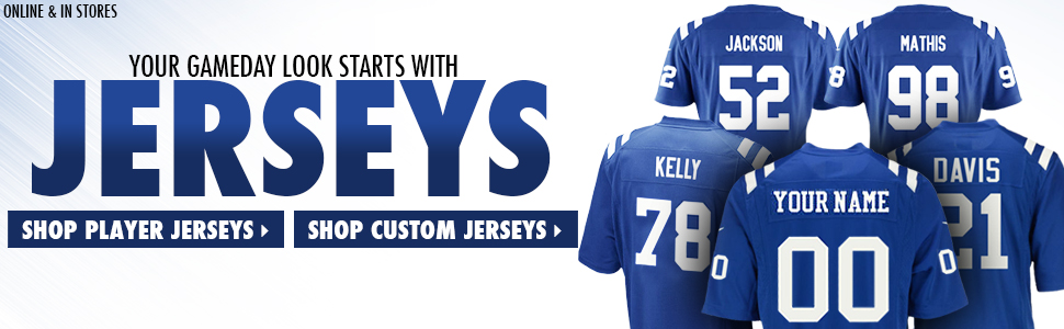 Shop Colts Jerseys