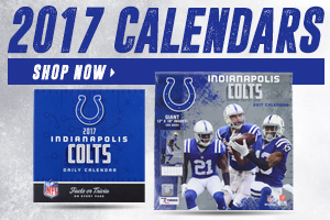 Shop 2017 Colts Calendars!
