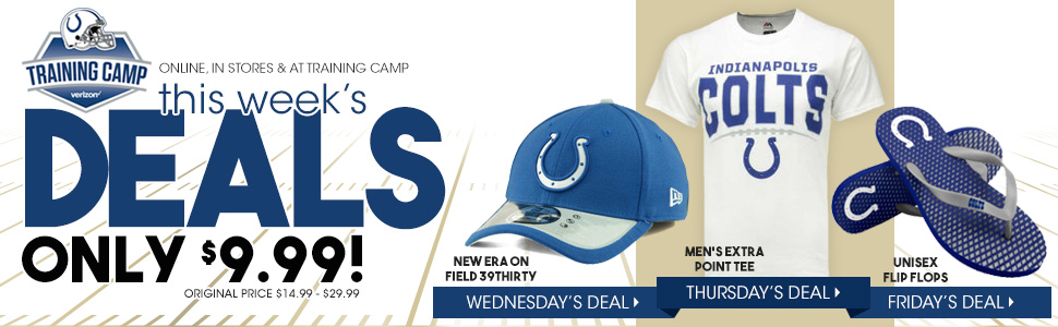 Shop this weeks Training Camp Deals of the Day!
