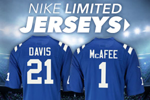 Shop new Colts Limited jerseys now!