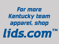For more Kentuckey team apparel, shop lids.com.
