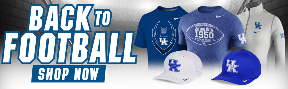 Shop Kentucky Football Gear!