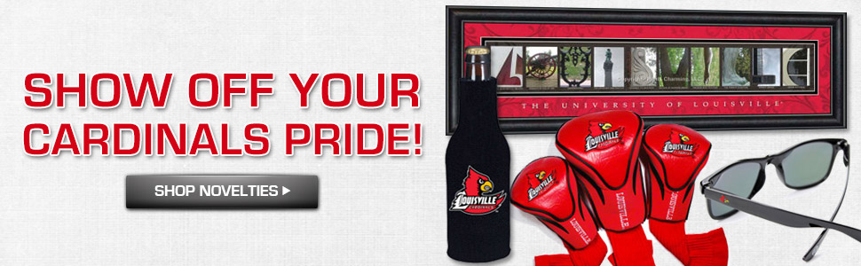 Show off your Cadinals Pride! Shop Louisville Novelties.