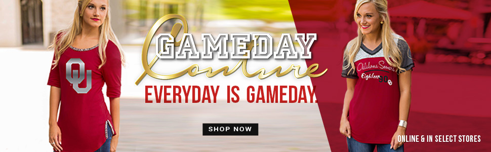 Shop Sooners Gameday Couture Collection!