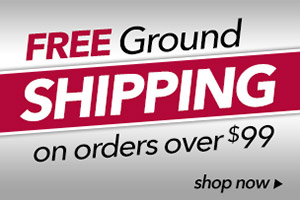 Free Ground Shipping on Order of $99 or more