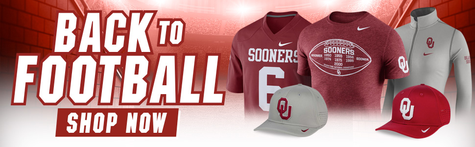 Shop Sooners Football Gear!