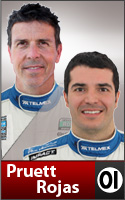 Scott Pruett and Memo Rojas Hats & Apparel