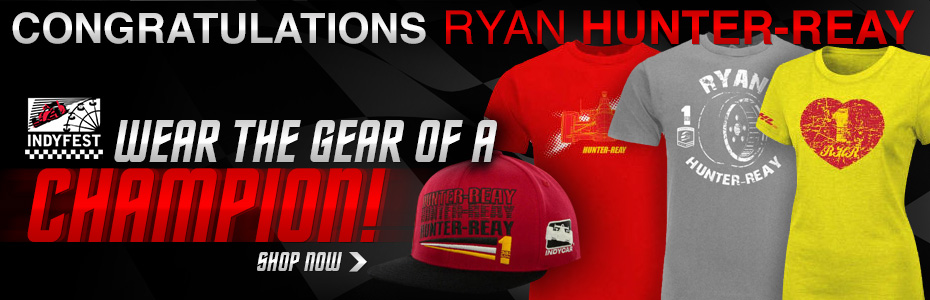 Congratulations Ryan Hunter-Reay