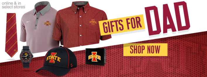 Shop ISU for Dad!