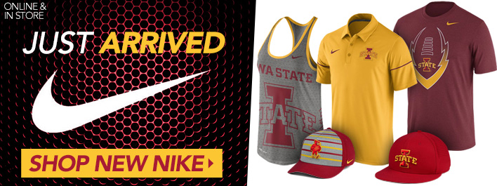 Shop Iowa State New Nike Arrivals!