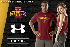 Shop ISU Under Armour Apparel!