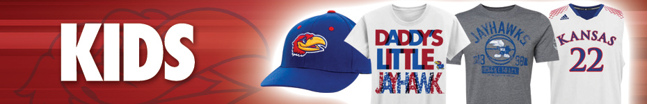 Shop Kansas Apparel and hats for kids