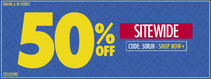 Shop 50% off Limited Time Only!