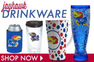 Say Cheers with Jayhawks Drinkware!