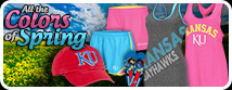 Spring into Style! Shop all of the Kansas Colors of Spring!