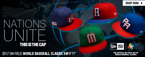 Shop 2017 On-Field World Baseball Classic 59FIFTY Cap!